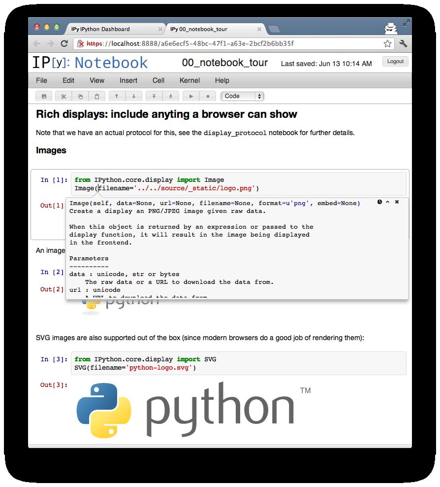 python/IPython's changelog at AllMyChanges com, release